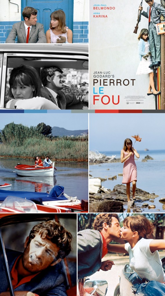 Color Theory Pierrot Le Fou